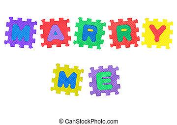 casar, mim