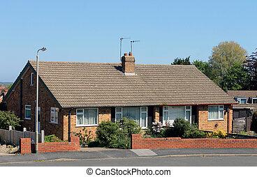 casas, bungalow, inglés