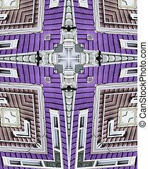 casas, calidoscopio, cross:, fila