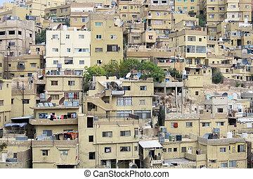 casas, capital, jordania, amman