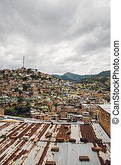 casas, comuna, colinas, colombia, medellin, 13