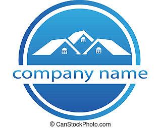 casas, logotipo