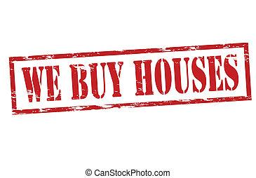 casas, nosotros, comprar