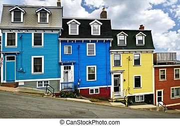 casas, s., colorido, john's