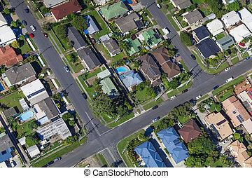 casas, suburbano