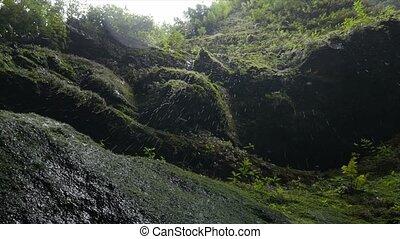 Cascada De Los Tilos, Waterfall