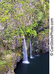 cascada, en, hawai