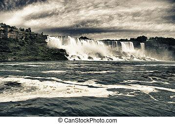 cascadas, en, niágara