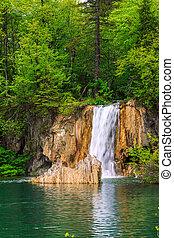 cascadas, en, plitvice