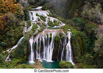 cascadas,  marmore, Italia