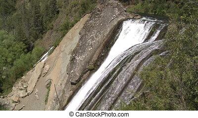 """Cascade """"Escondida"""". Patagonia, Argentina. . Audio included..."""