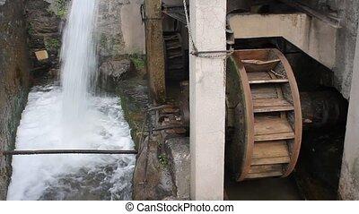 cascade, molen
