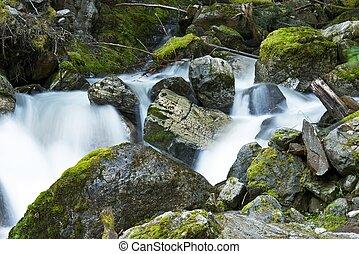 Cascade Mountains Creek - Cascade Mountains Mossy Creek ...