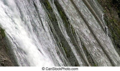 Cascade. Slow motion