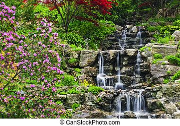 cascading, водопад
