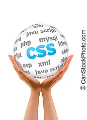 Cascading Style Sheets - Hands holding a Cascading Style...
