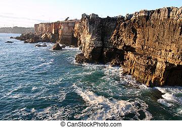 cascais, ポルトガル, 崖
