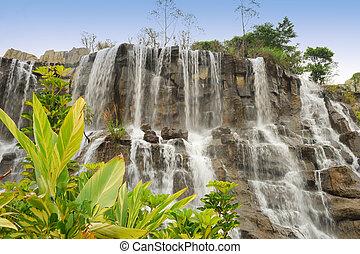 cascata, in, il, parco nazionale
