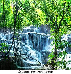 cascata, Messico