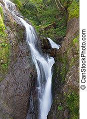 cascata, montagne