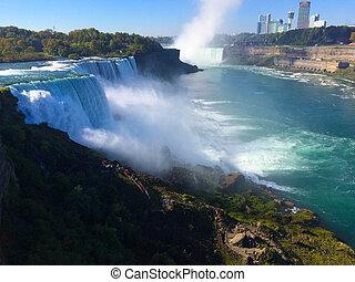 Cascate del Niagara di giorno