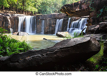 cascate, in, parco nazionale