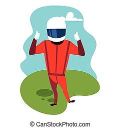 casco, 1, driver, formula, uomo