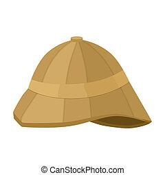 casco, estilo, inglaterra, Ilustración, Plano de fondo,...