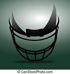 casco, fútbol americano