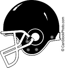 casco, football