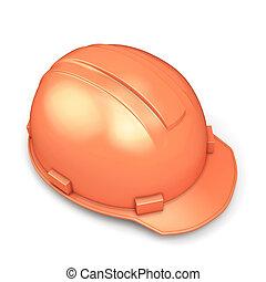 casco, primer plano, construcción