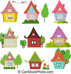 case, collezione, carino