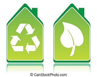 case, ecologia, verde