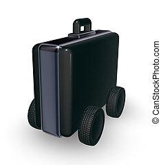 case on wheels