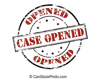 Case opened