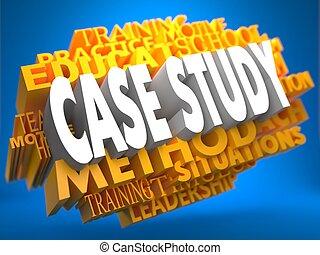 Case Study on Yellow WordCloud.