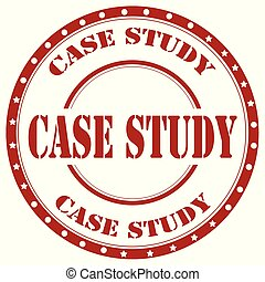Case Study-stamp - Red stamp with text Case Study,vector...