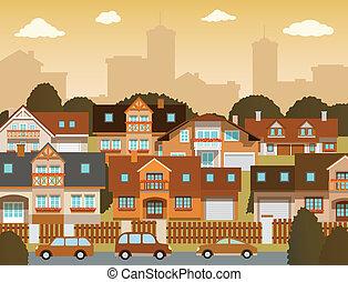 case, suburbano