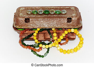 Case with jewelry