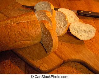 caseiro, pão