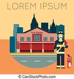caserma dei pompieri, banner10