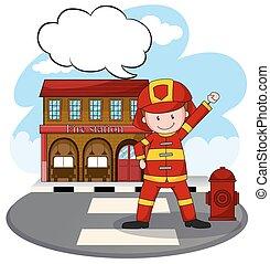caserma dei pompieri