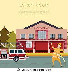 caserne pompiers, banner2