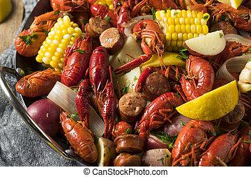 casero, meridional, divieso, cangrejos de río