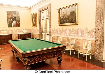 Interior of Palazzo Reale in Caserta