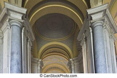 Caserta Royal Palace, columns