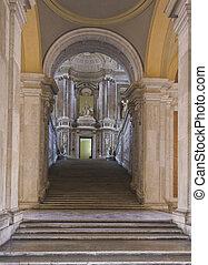 Caserta Royal Palace, Staircase