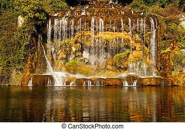 Caserta Royal Palace , waterfall