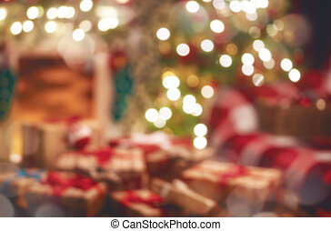 cases don, dans, les, décoré, salle