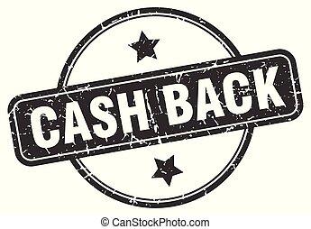 cash back grunge stamp
